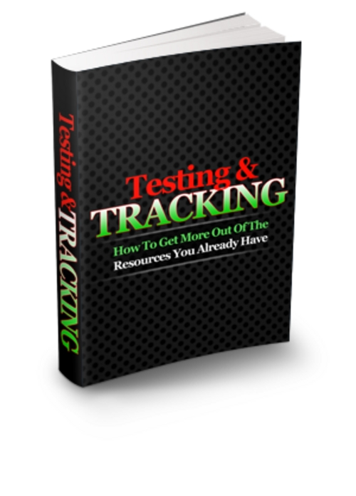 Product picture Internet Marketing Testing & Tracking